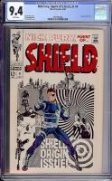 Nick Fury, Agent of SHIELD #4 CGC 9.4 w