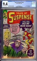 Tales of Suspense #48 CGC 9.4 ow/w