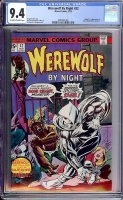 Werewolf By Night #32 CGC 9.4 ow/w