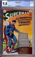 Superman #215 CGC 9.8 ow/w