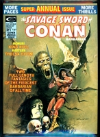 Savage Sword of Conan Annual #1 CGC 9.8 w
