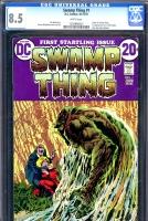 Swamp Thing #1 CGC 8.5 w