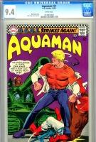 Aquaman #31 CGC 9.4 w