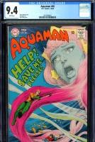 Aquaman #40 CGC 9.4 w