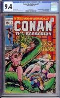 Conan The Barbarian #7 CGC 9.4 ow/w
