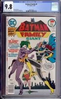 Batman Family #9 CGC 9.8 ow/w
