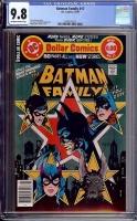 Batman Family #17 CGC 9.8 ow/w