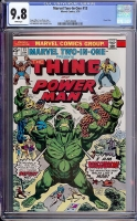 Marvel Two-In-One #13 CGC 9.8 w