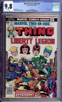 Marvel Two-In-One #20 CGC 9.8 w