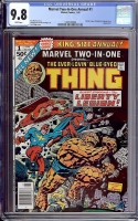 Marvel Two-In-one Annual #1 CGC 9.8 w