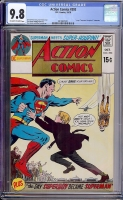 Action Comics #393 CGC 9.8 ow/w