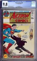 Action Comics #393 CGC 9.8 ow/w