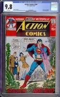 Action Comics #394 CGC 9.8 w