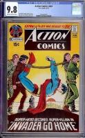 Action Comics #401 CGC 9.8 ow/w