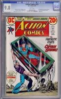 Action Comics #421 CGC 9.8 w