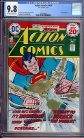 Action Comics #435 CGC 9.8 ow/w
