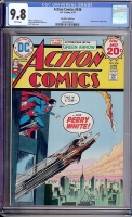 Action Comics #436 CGC 9.8 w Don Rosa Collection