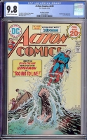 Action Comics #439 CGC 9.8 ow/w Don Rosa Collection