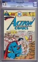 Action Comics #454 CGC 9.8 w