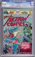 Action Comics #458 CGC 9.8 w