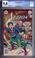 Action Comics #466 CGC 9.8 ow/w