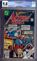Action Comics #474 CGC 9.8 ow/w