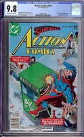 Action Comics #475 CGC 9.8 ow/w