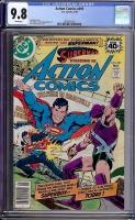 Action Comics #495 CGC 9.8 w