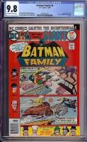 Batman Family #6 CGC 9.8 ow/w