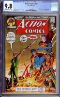 Action Comics #402 CGC 9.8 ow/w