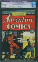 Adventure Comics #40 CGC 9.0 cr/ow