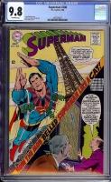 Superman #208 CGC 9.8 ow