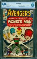 Avengers #9 CBCS 6.0 w