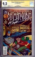 Batman and Robin Adventures #1 CGC 9.2 w CGC Signature SERIES