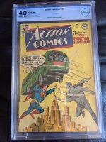 Action Comics #199 CBCS 4.0 ow/w