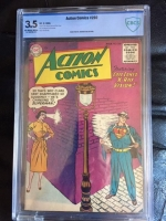Action Comics #202 CBCS 3.5 ow/w