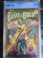 Brave and the Bold #20 CBCS 4.5 ow/w