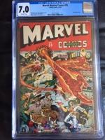 Marvel Mystery Comics #59 CGC 7.0 ow