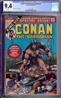 Conan the Barbarian Annual #1 CGC 9.4 w
