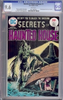 Secrets of Haunted House #1 CGC 9.6 w