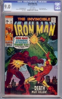 Iron Man #22 CGC 9.0 w
