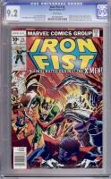Iron Fist #15 CGC 9.2 w