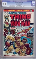 Marvel Feature #12 CGC 9.4 cr/ow
