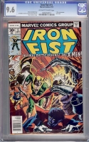 Iron Fist #15 CGC 9.6 ow/w