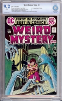 Weird Mystery Tales #1 CBCS 9.2 w Mister Magik Woo Collection