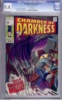 Chamber of Darkness #1 CGC 9.4 w