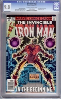 Iron Man #122 CGC 9.8 ow/w