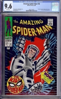Amazing Spider-Man #58 CGC 9.6 w