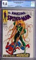 Amazing Spider-Man #62 CGC 9.6 w