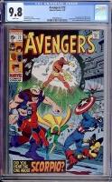 Avengers #72 CGC 9.8 w